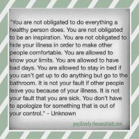 You are allowed to have bad days.