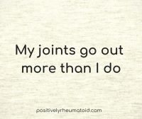 joints go out