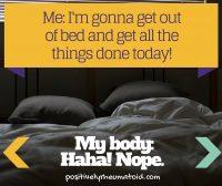 My Body Says Nope